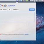 Translate Tab — переводчик Google Translate в менюбаре [обзор + раздача Redeem]