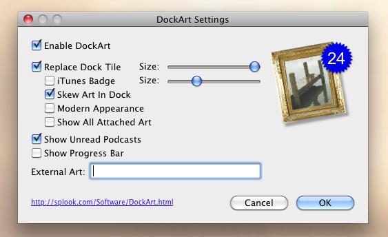 Заменяем иконку iTunes в доке обложкой альбома