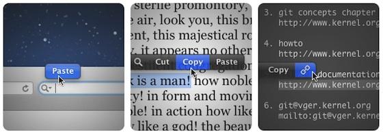 PopClip — редактирование текста на Mac в стиле iOS