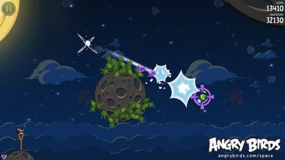 Новые подробности и трейлер Angry Birds Space