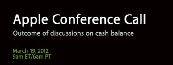 Apple проведет конференцию, посвященную финансовым решениям