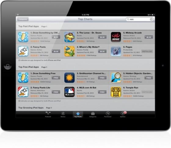 В App Store появилась новая категория, обновилась версия для iPad