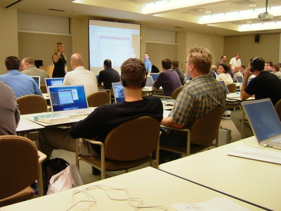 Apple HQ meeting room