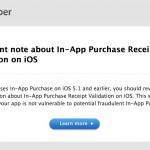 iOS 6 исправит уязвимость с In-App Purchase, Apple предоставляет рекомендации для разработчиков