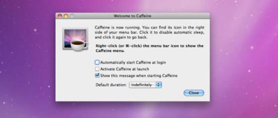 Apps Caffeine