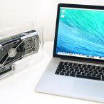 Внешняя видеокарта для ноутбуков Apple от Bizon Computers