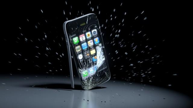 Патент падения iPhone