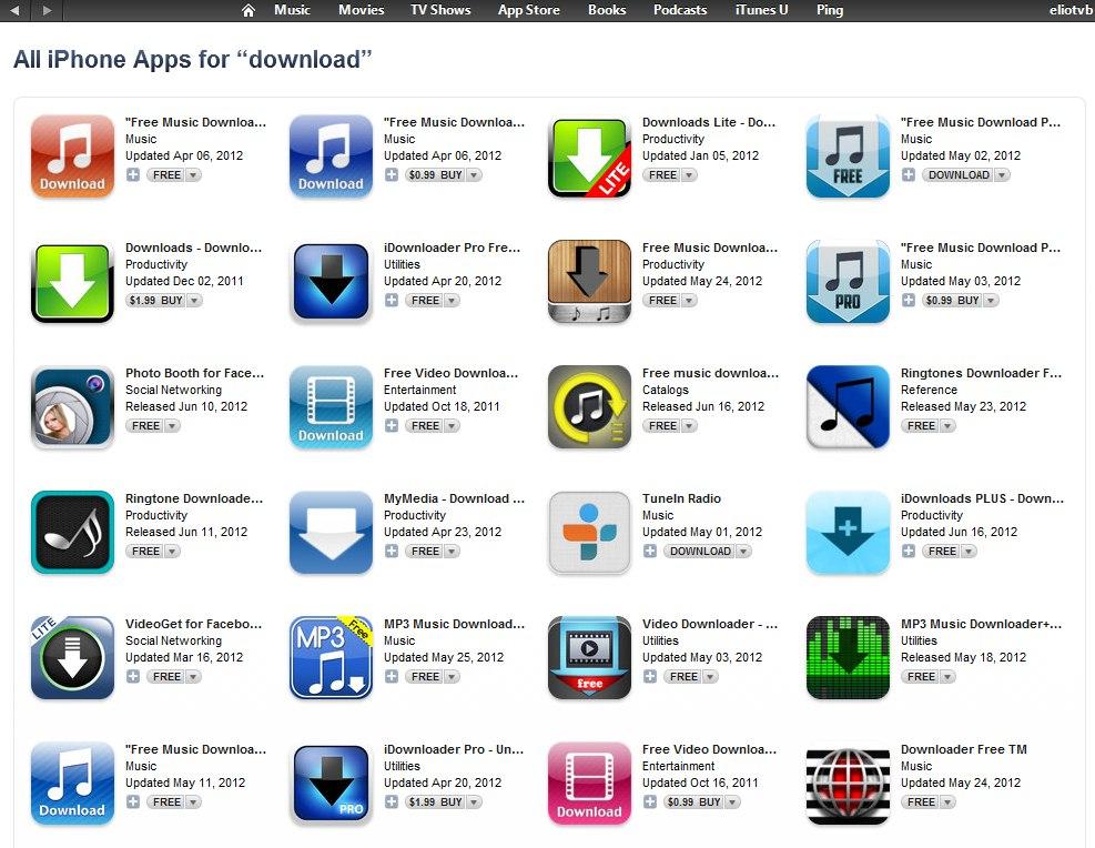 скачать iphone приложение