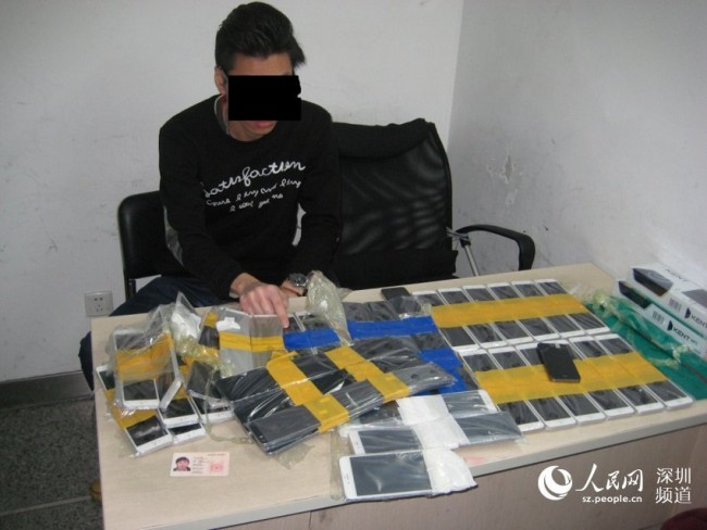 Контрабандист пытался пронести через границу 94 iPhone 6