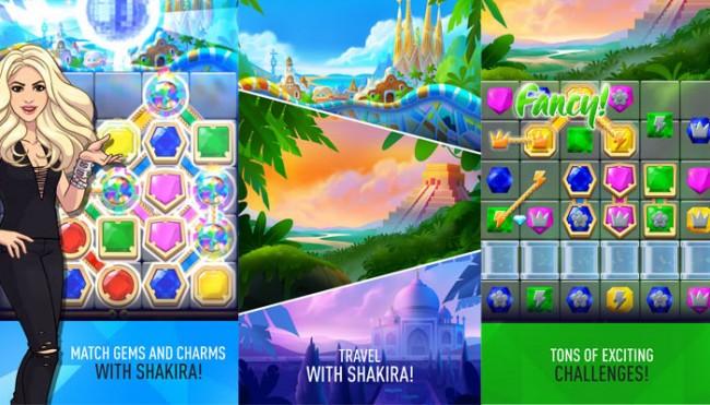 Компания Rovio запустила головоломку в честь Шакиры