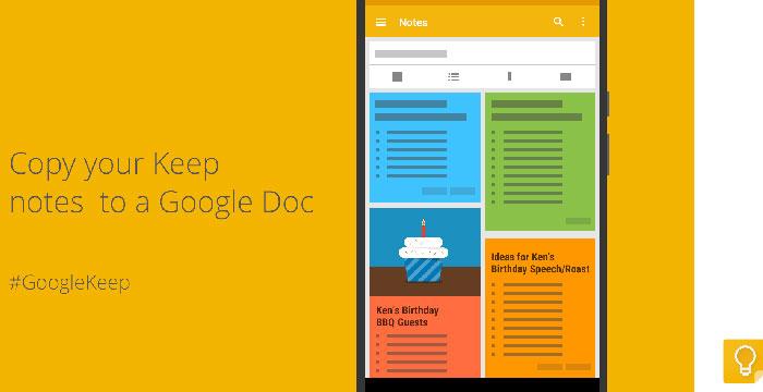 Появилось обновление Google Keep для iOS