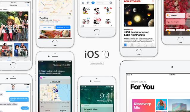 Бета-версия iOS 10 оставила позади iOS 9.3.2 по работе без подзарядки