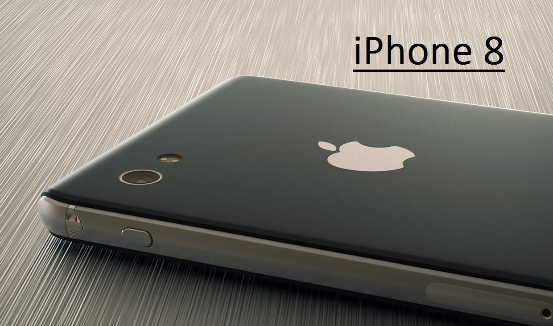 Вероятный дизайн iPhone 8