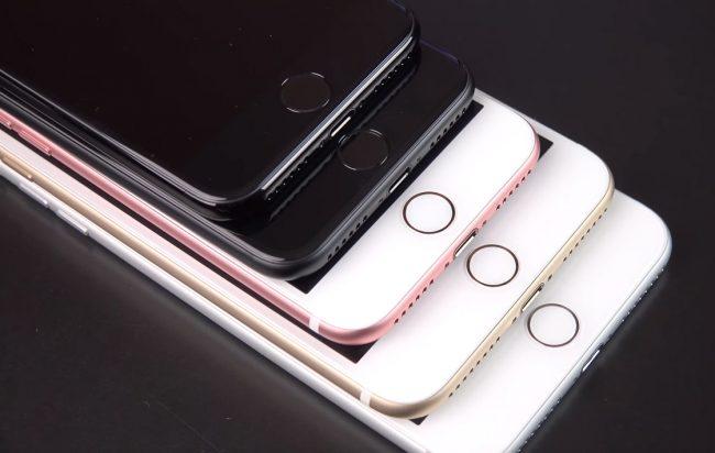 Цвета iPhone 7