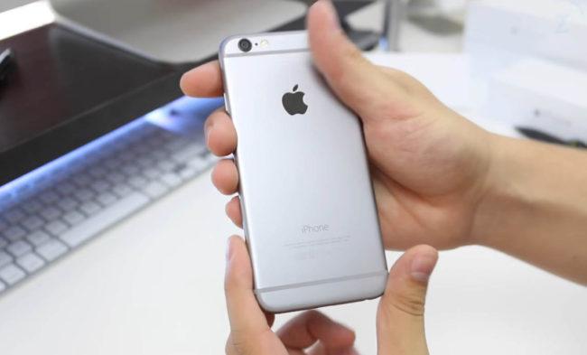 Цвета iPhone 6 Космический серый